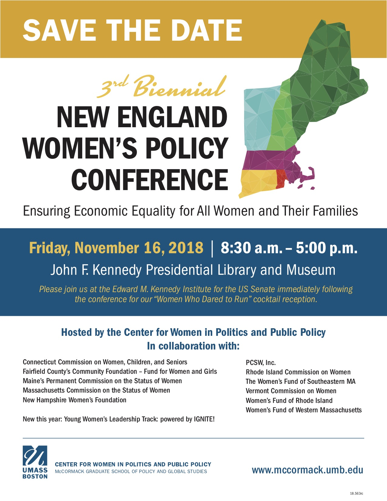 The Unfinished Agenda: New England Women's Policy Conference (2018)