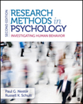 Research Methods in Psychology: Investigating Human Behavior by Paul G. Nestor and Russell K. Schutt